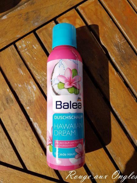 Mousse de douche Balea - Rouge aux Ongles