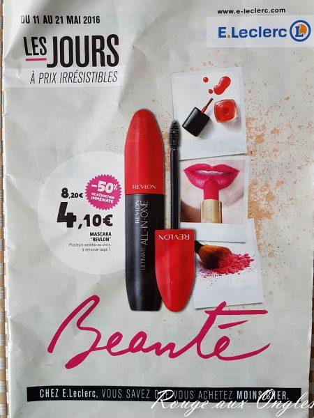 Les RDV Beauté Leclerc - Rouge aux Ongles