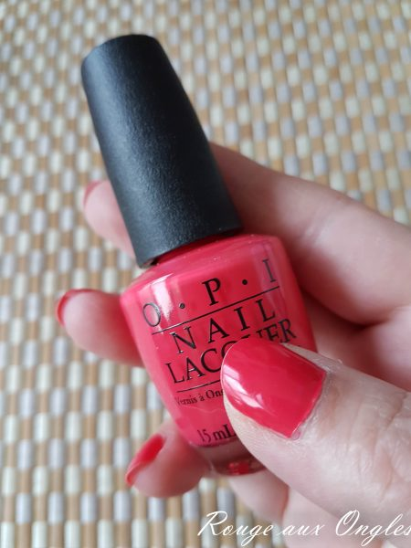 OPI - She's a Bad Muffuletta ! - Rouge aux Ongles