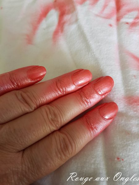 Le Vernis Spray de Nocibé - Rouge aux Ongles