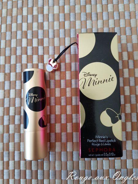 Le Rouge à Lèvres Minnie de Sephora - Rouge aux Ongles