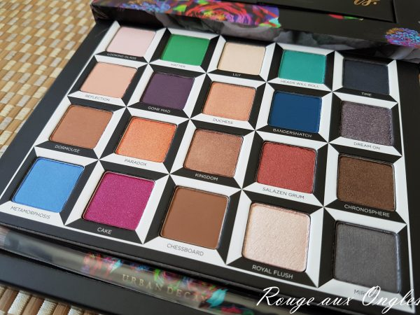 La palette Alice throught the Looking Glass de Urban Decay - Rouge aux Ongles