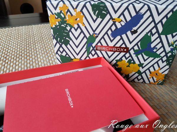La BirchBox d'Août 2016 - Rouge aux Ongles