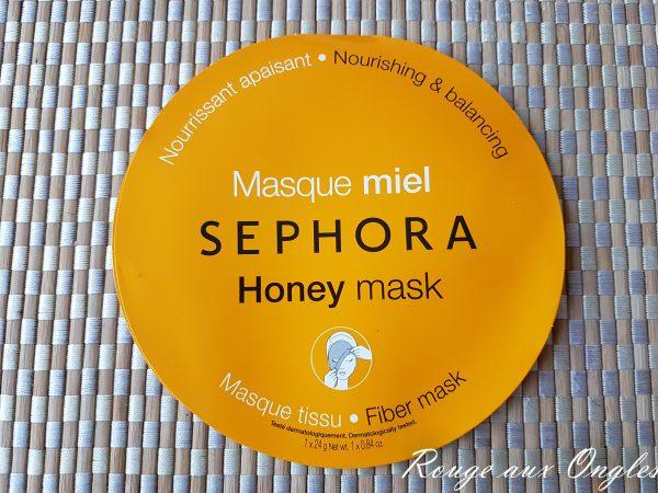 Le Masque au Miel de Sephora - Rouge aux ONgles