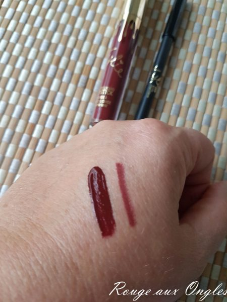 Matte Lip Kit Leo de Kylie Cosmetics - Rouge aux Ongles