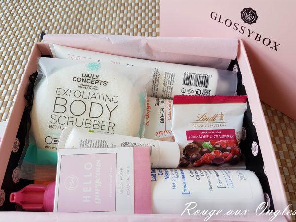 La GlossyBox d'octobre 2016 - Rouge aux Ongles