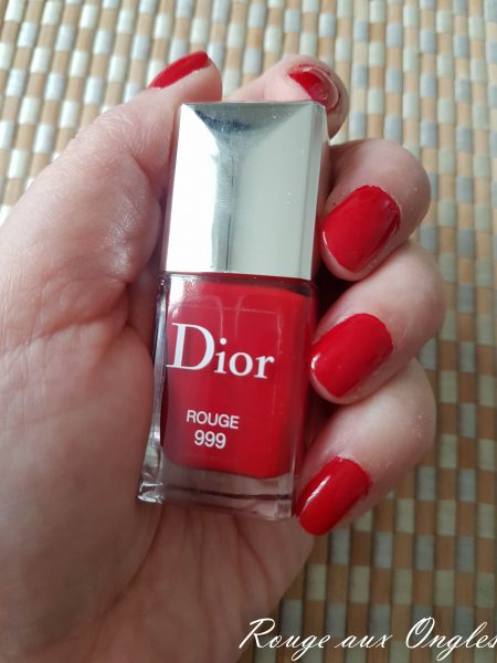 bout ongle rouge