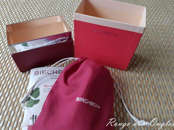 La BirchBox de Décembre 2016 - Rouge aux Ongles
