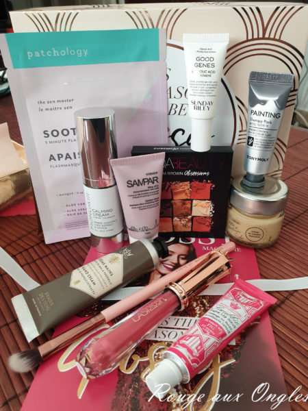 La GlossyBox It's the Season to be Glossy - Rouge aux Ongles